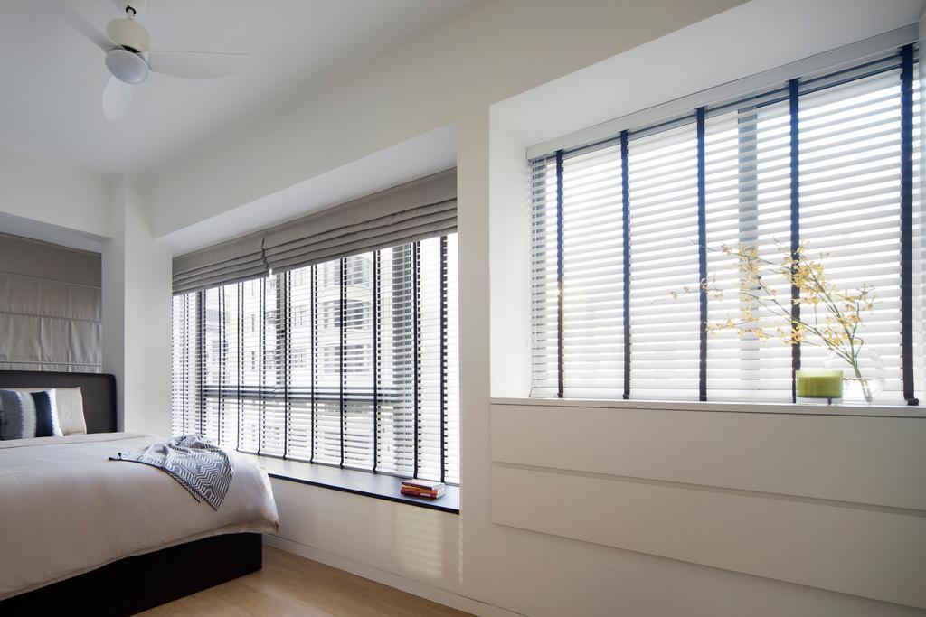 Industrial, Condo, Bedroom, De Centurion @ Tanjong Rhu Road, Interior Designer, Fuse Concept