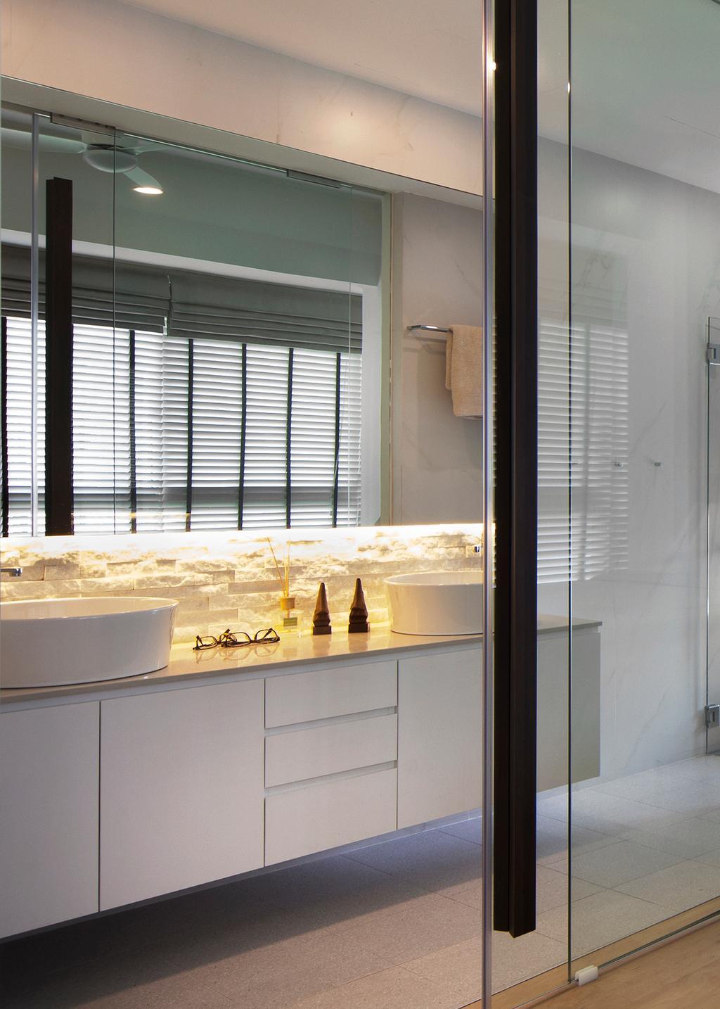 Industrial, Condo, Bathroom, De Centurion @ Tanjong Rhu Road, Interior Designer, Fuse Concept