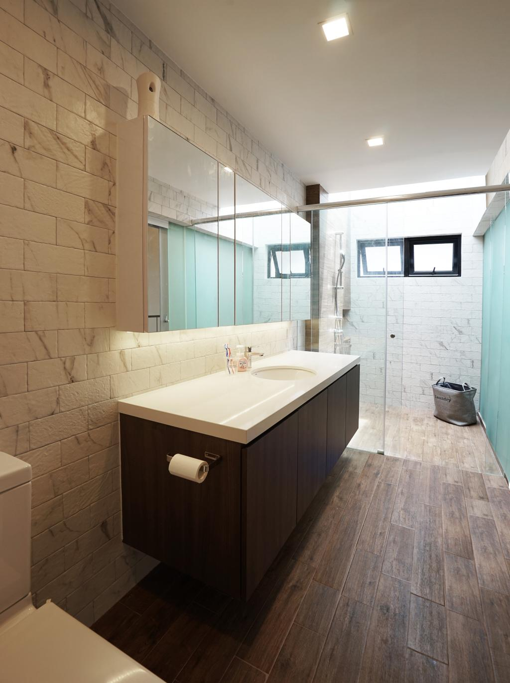 Landed, Bathroom, Tai Hwan Terrace, Interior Designer, Metamorph Design, Indoors, Interior Design, Room, Jacuzzi, Tub