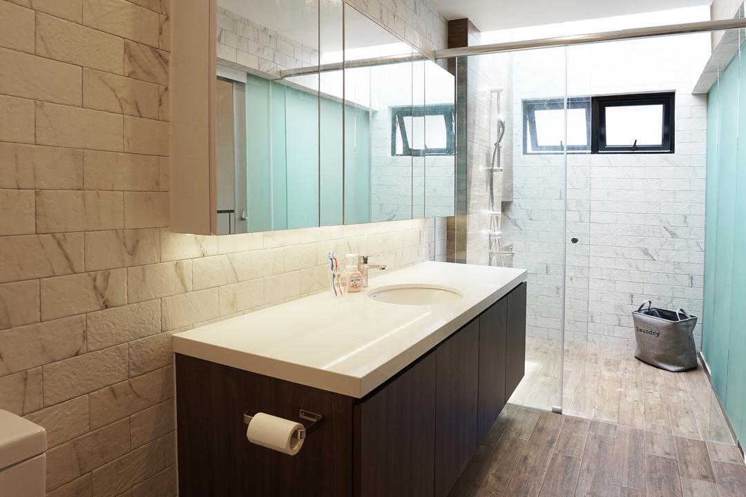 Tai Hwan Terrace, Metamorph Design, Bathroom, Landed, Indoors, Interior Design, Room, Jacuzzi, Tub