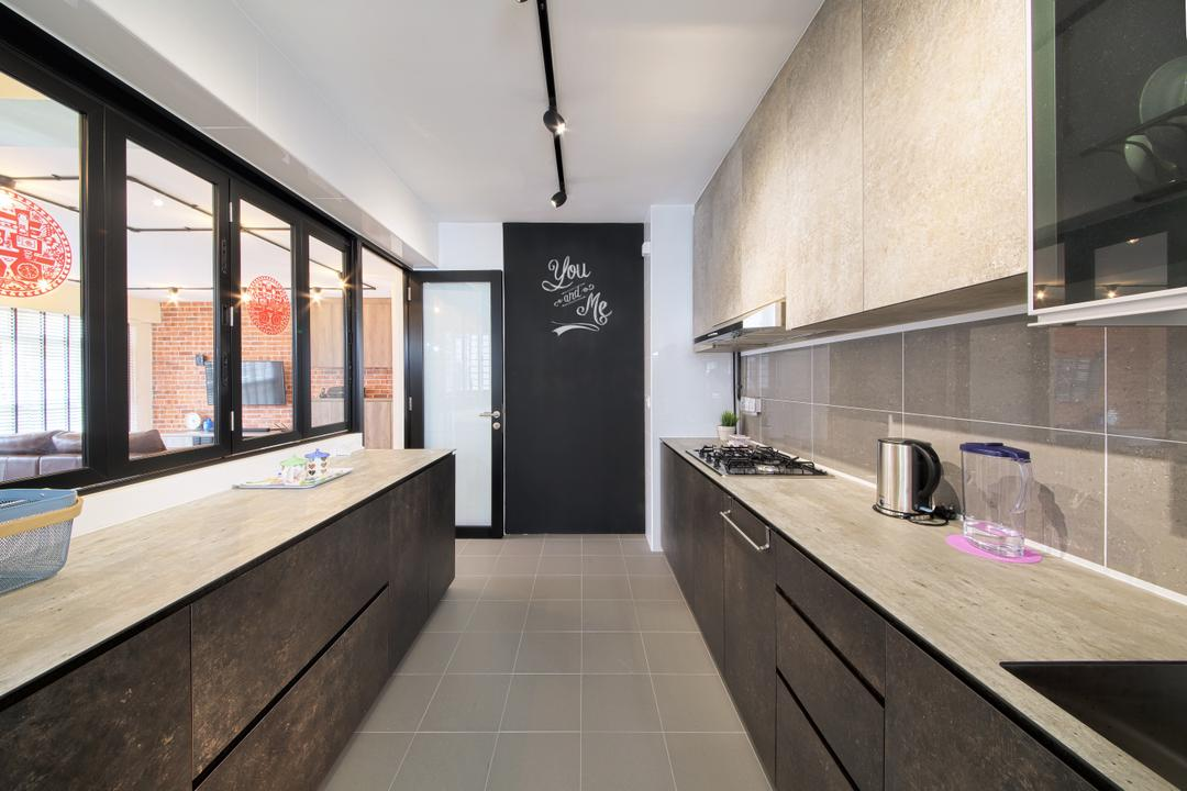 Compassvale Cape, Dap Atelier, Scandinavian, Industrial, Kitchen, HDB, Jug, Pitcher, Water Jug, Indoors, Interior Design