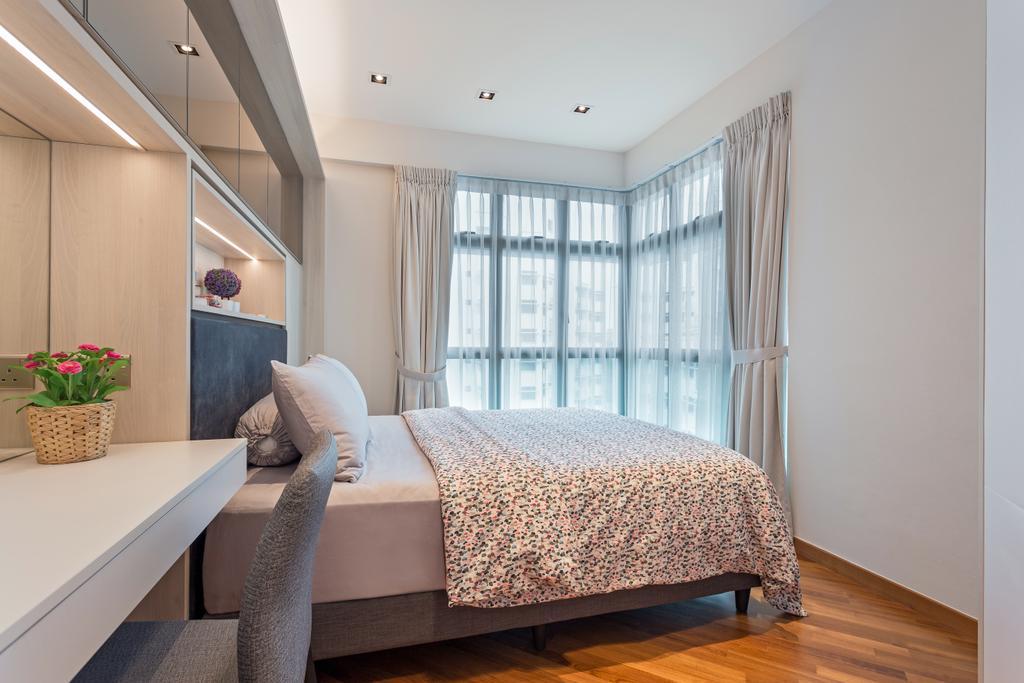 Contemporary, Condo, Bedroom, Eastvale, Interior Designer, Summerhaus D'zign, Modern, Human, People, Person, Indoors, Interior Design, Room