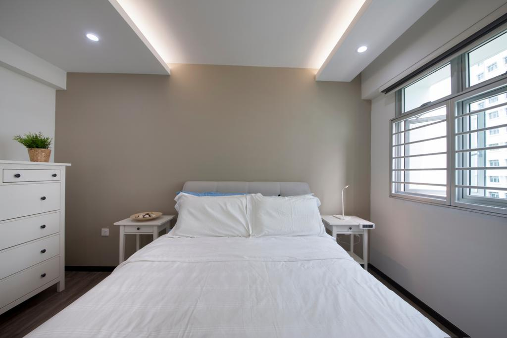 Minimalistic, HDB, Bedroom, Edgefield Plains, Interior Designer, Space Atelier
