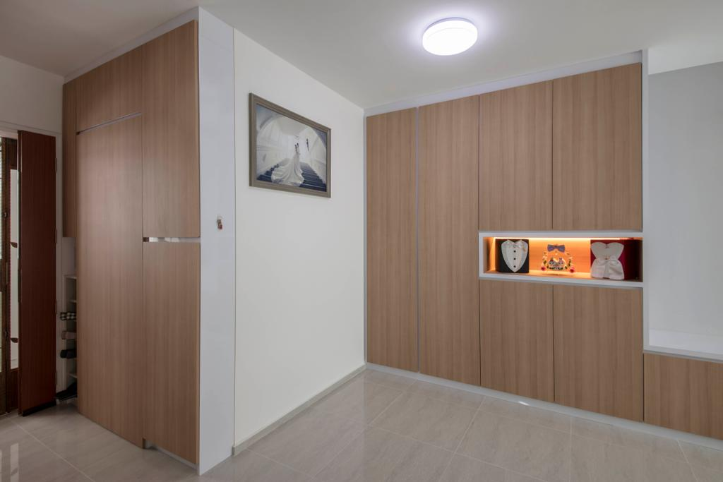 Modern, HDB, Living Room, Boon Lay Avenue, Interior Designer, Ascenders Design Studio, Scandinavian, Plywood, Wood