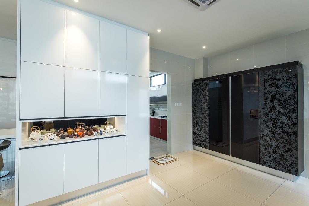 Modern, Landed, Kitchen, Twin Palms Sungai Long, Interior Designer, Klaasmen Sdn. Bhd., Contemporary