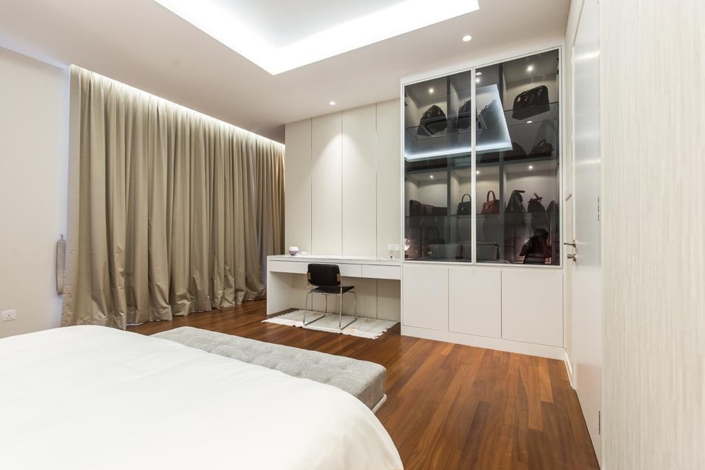 Modern, Landed, Bedroom, Twin Palms Sungai Long, Interior Designer, Klaasmen Sdn. Bhd., Contemporary, Indoors, Interior Design, Room