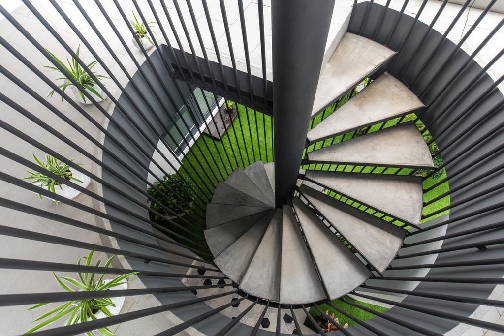 Modern, Landed, Twin Palms Sungai Long, Interior Designer, Klaasmen Sdn. Bhd., Contemporary, Spiral, Flora, Plant