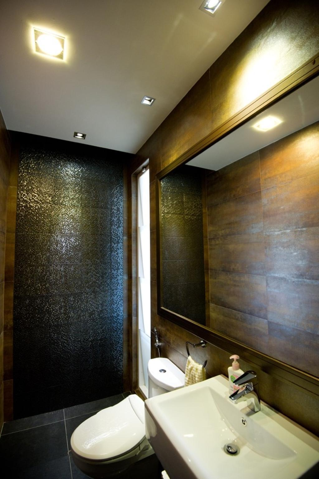 Modern, Landed, Bathroom, Setia Eco Park, Interior Designer, Klaasmen Sdn. Bhd., Contemporary, Corridor