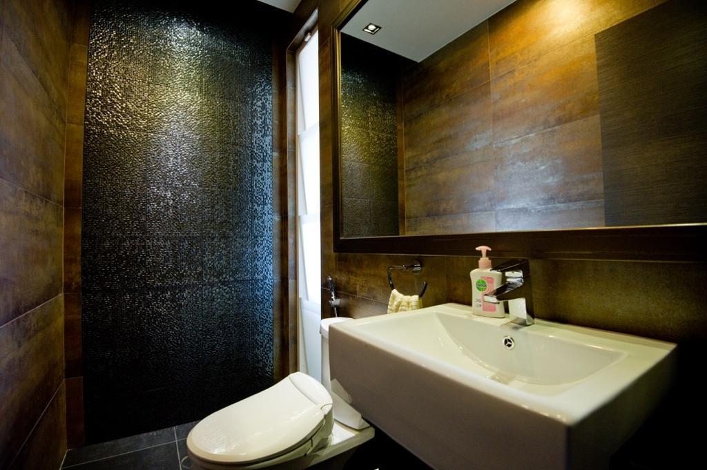 Modern, Landed, Setia Eco Park, Interior Designer, Klaasmen Sdn. Bhd., Contemporary, Sink, Bathroom, Indoors, Interior Design, Room