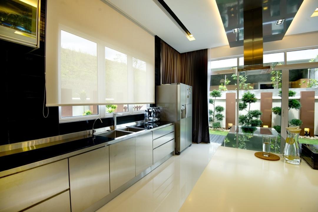 Setia Eco Park, Klaasmen Sdn. Bhd., Modern, Contemporary, Landed, Indoors, Interior Design, Terrace, Flora, Jar, Plant, Potted Plant, Pottery, Vase