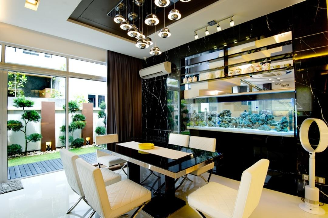 Setia Eco Park, Klaasmen Sdn. Bhd., Modern, Contemporary, Dining Room, Landed, Indoors, Interior Design, Cafe, Restaurant