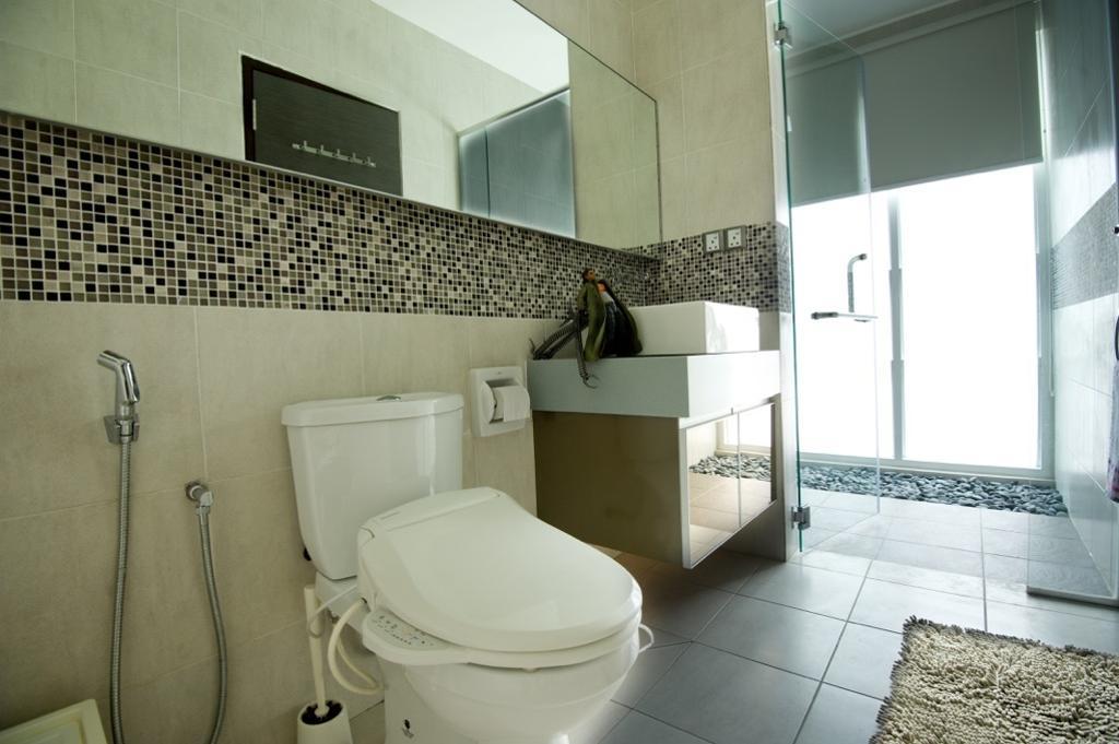 Modern, Landed, Setia Eco Park, Interior Designer, Klaasmen Sdn. Bhd., Contemporary, Toilet, Bathroom, Indoors, Interior Design, Room