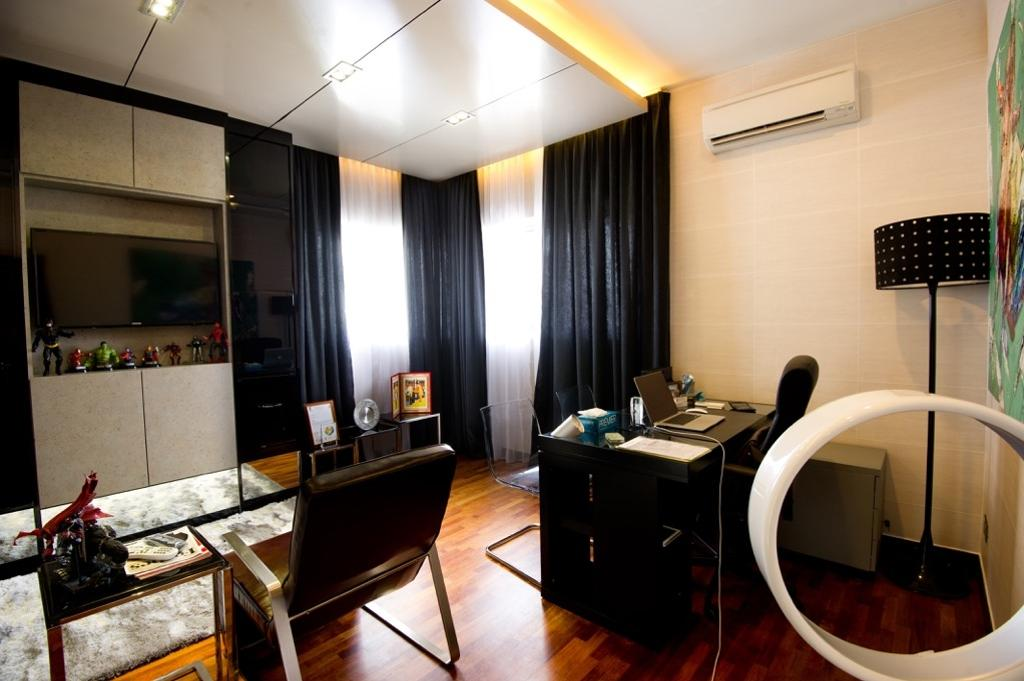 Modern, Landed, Setia Eco Park, Interior Designer, Klaasmen Sdn. Bhd., Contemporary, Appliance, Electrical Device, Oven, Chair, Furniture, Indoors, Interior Design, Room