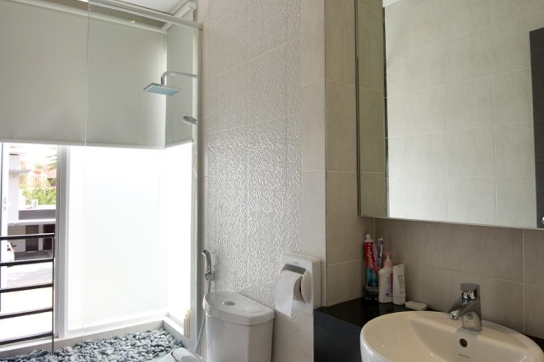 Setia Eco Park, Klaasmen Sdn. Bhd., Modern, Contemporary, Bathroom, Landed, Toilet, Indoors, Interior Design, Room