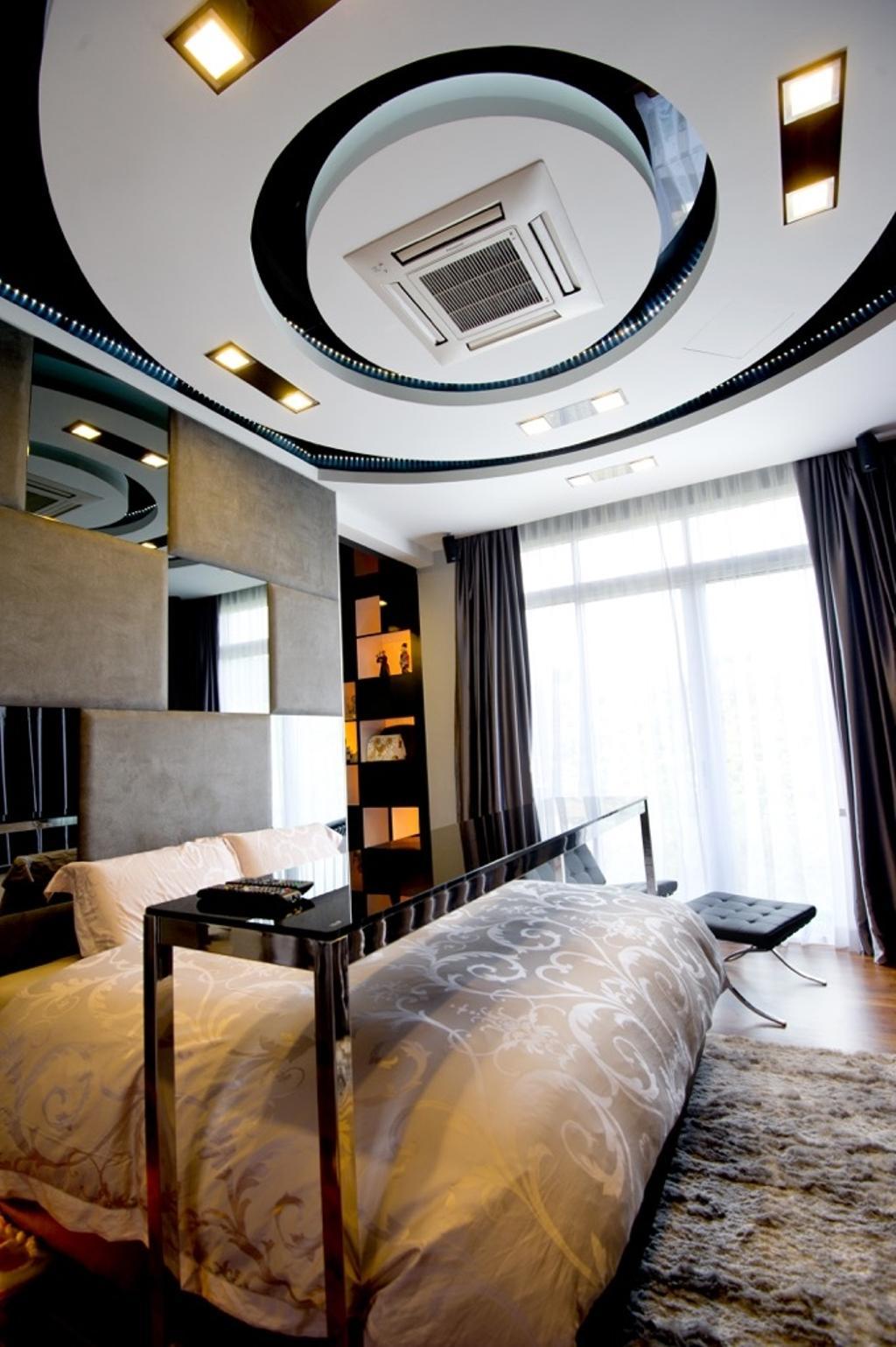 Modern, Landed, Bedroom, Setia Eco Park, Interior Designer, Klaasmen Sdn. Bhd., Contemporary, Couch, Furniture, Indoors, Interior Design