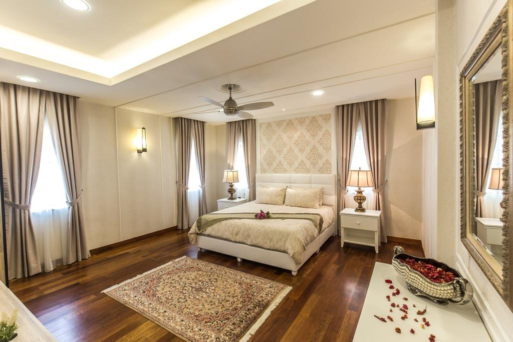 Eclectic, Landed, Bedroom, Taman Tar, Ampang, Interior Designer, Klaasmen Sdn. Bhd., Traditional, Indoors, Room, Interior Design