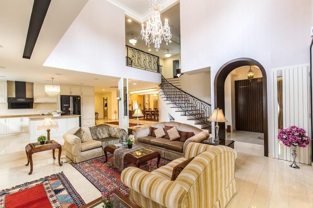 Eclectic, Landed, Taman Tar, Ampang, Interior Designer, Klaasmen Sdn. Bhd., Traditional, Furniture, Indoors, Room, Couch