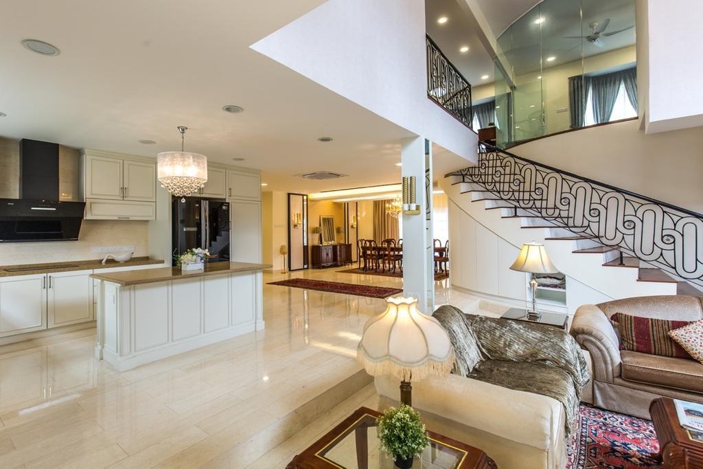 Eclectic, Landed, Taman Tar, Ampang, Interior Designer, Klaasmen Sdn. Bhd., Traditional, Banister, Handrail, Hall, Indoors