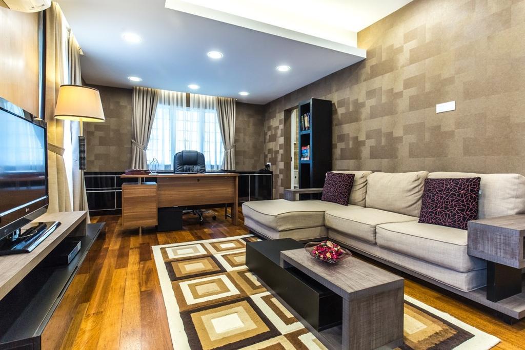 Eclectic, Landed, Taman Tar, Ampang, Interior Designer, Klaasmen Sdn. Bhd., Traditional, Couch, Furniture, Flooring, Indoors, Room, Interior Design