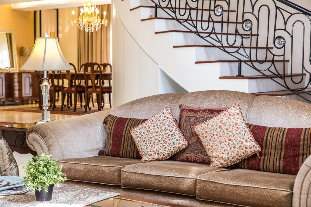 Eclectic, Landed, Taman Tar, Ampang, Interior Designer, Klaasmen Sdn. Bhd., Traditional, Couch, Furniture, Dining Table, Table, Cushion, Home Decor
