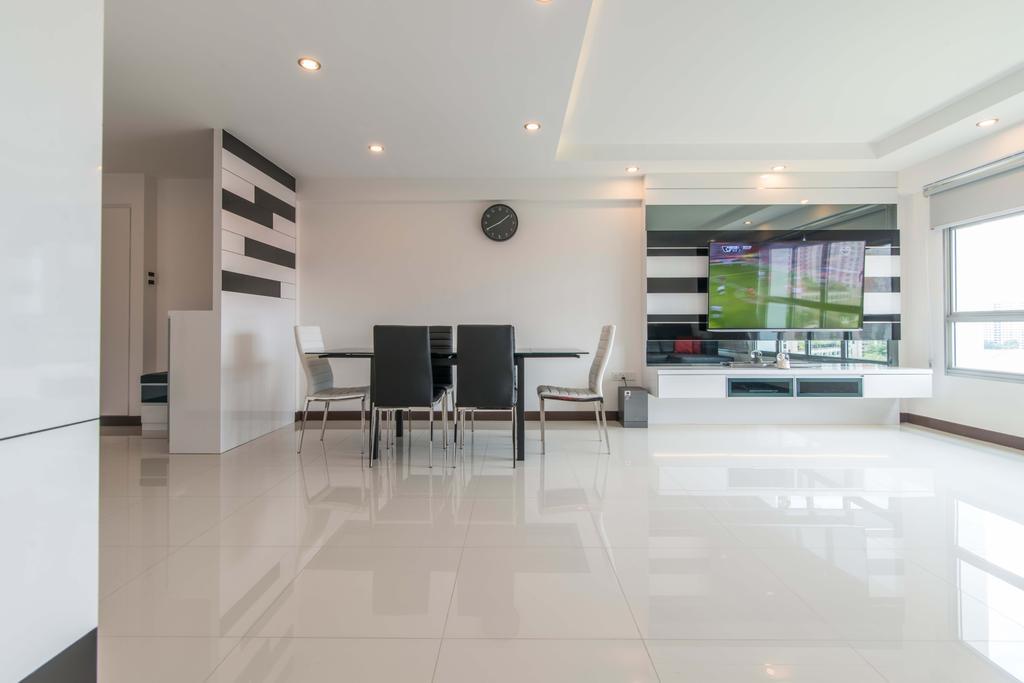 Modern, HDB, Dining Room, Fernvale Link (Block 415A), Interior Designer, AC Vision Design
