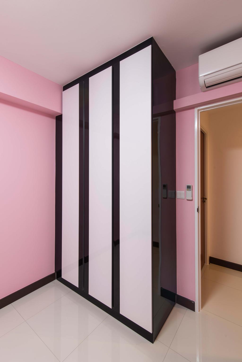 Modern, HDB, Bedroom, Fernvale Link (Block 415A), Interior Designer, AC Vision Design