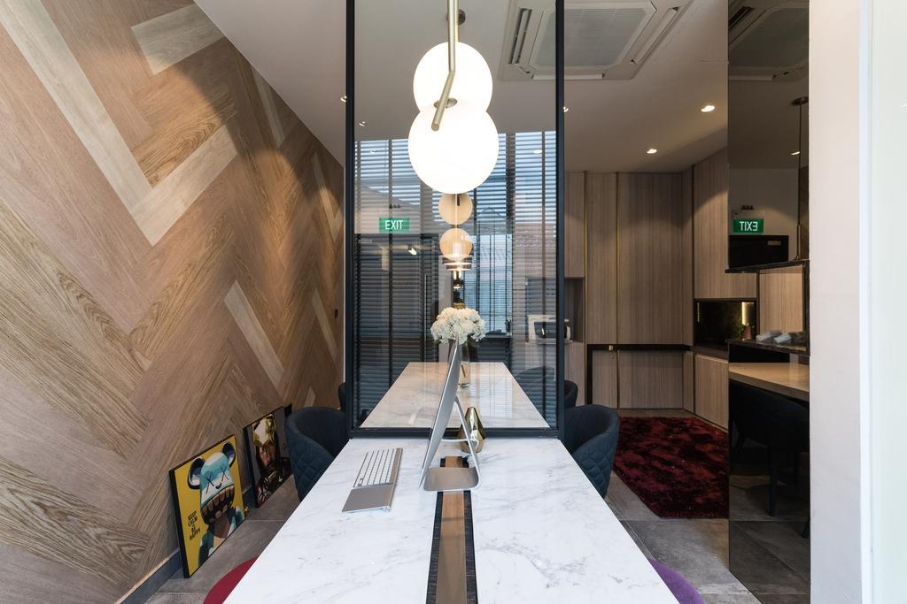 Townshend Road, Commercial, Interior Designer, Artmuse Interior, Contemporary, Light Fixture