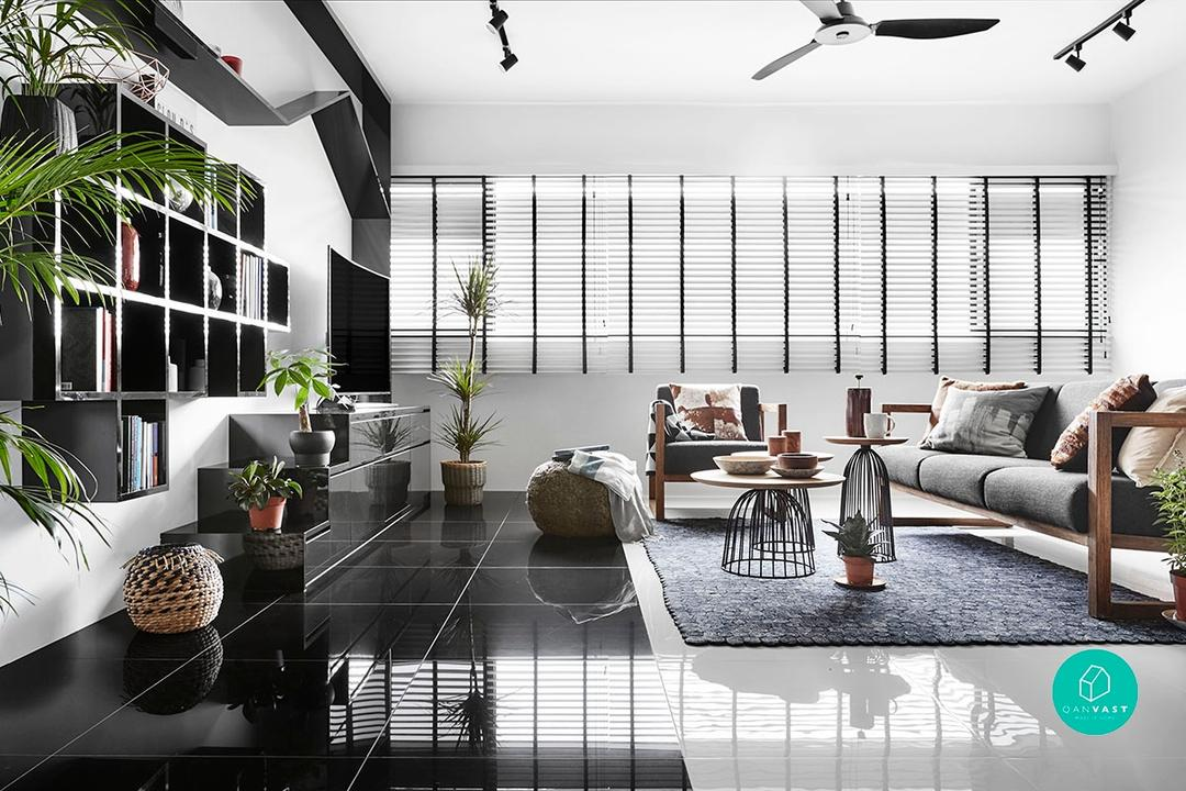 Living Room Ideas for HDBs and condos in Singapore