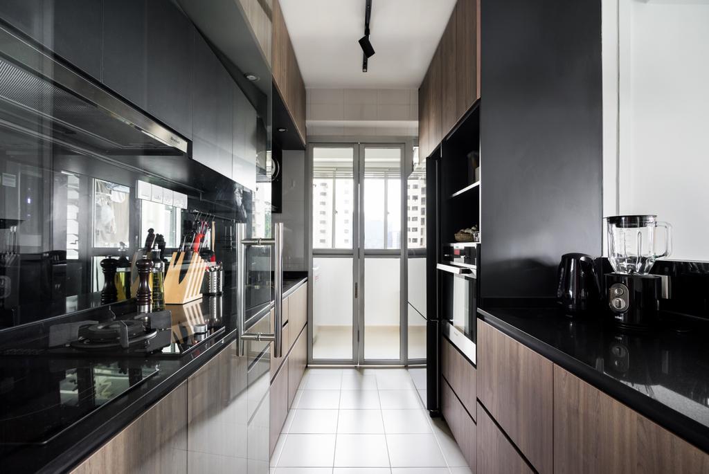 Contemporary, HDB, Kitchen, Depot Road, Interior Designer, Fineline Design
