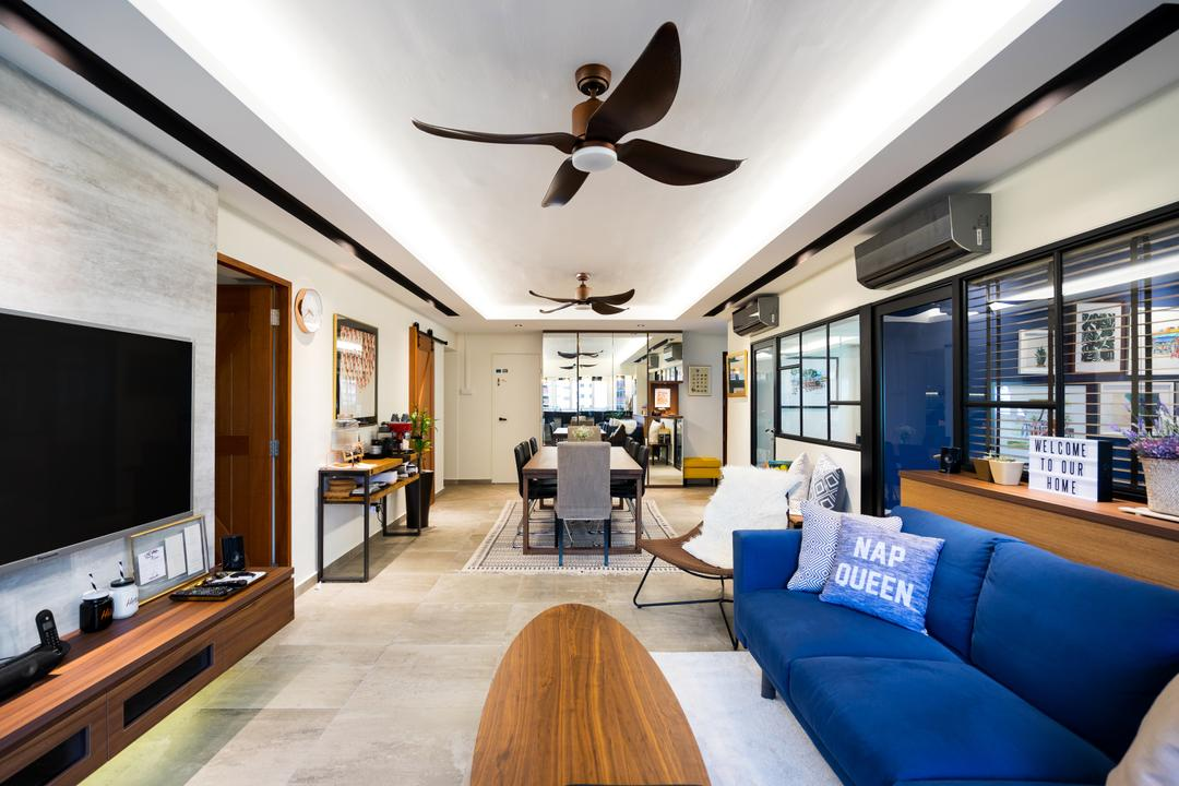 Toa Payoh Living Room Interior Design 1