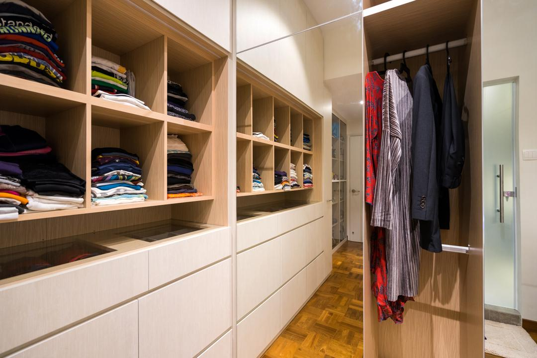 Lorong 107 Changi, Fineline Design, Scandinavian, Bedroom, Landed, Closet, Cupboard, Furniture