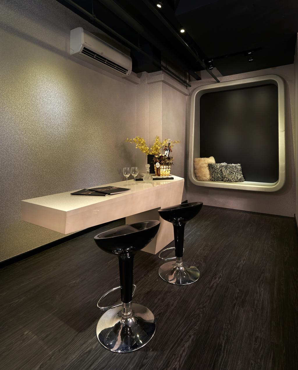 Showroom at Northstar@AMK, Commercial, Interior Designer, AC Vision Design, Contemporary