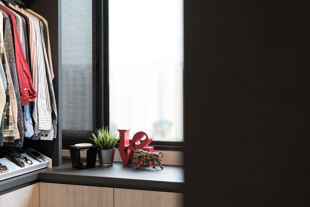 Contemporary, Condo, Bedroom, The Amore, Interior Designer, Artmuse Interior, Sink, Apparel, Clothing
