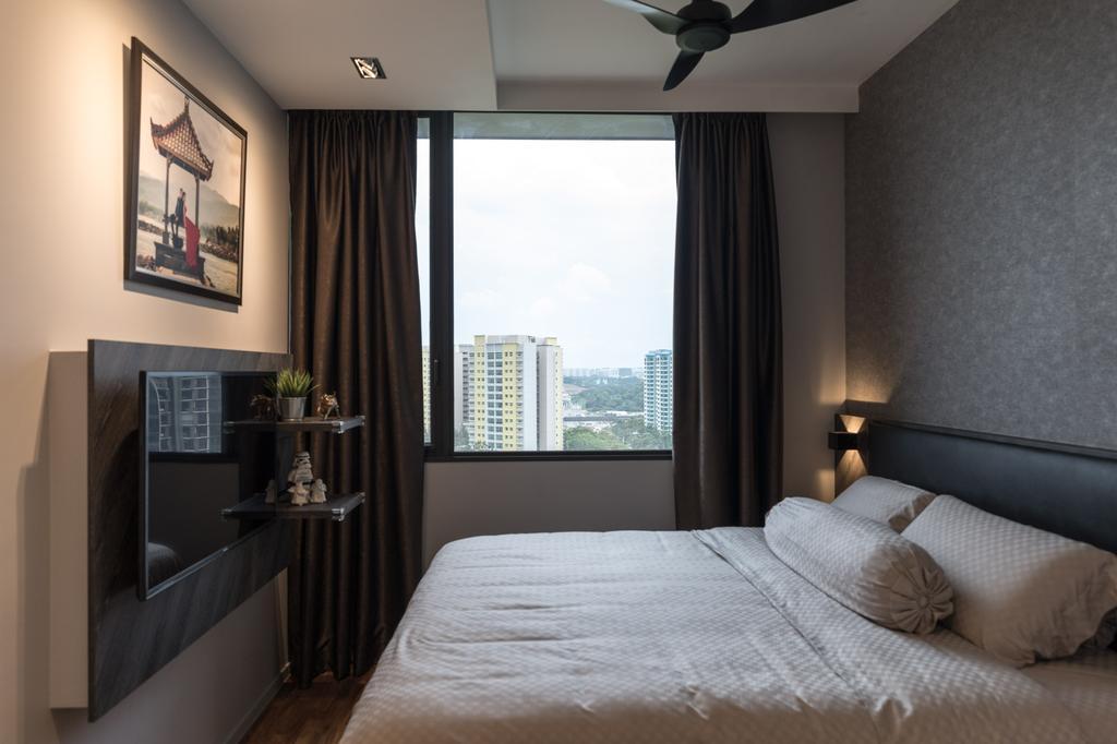 Contemporary, Condo, Bedroom, The Amore, Interior Designer, Artmuse Interior, Indoors, Interior Design, Room