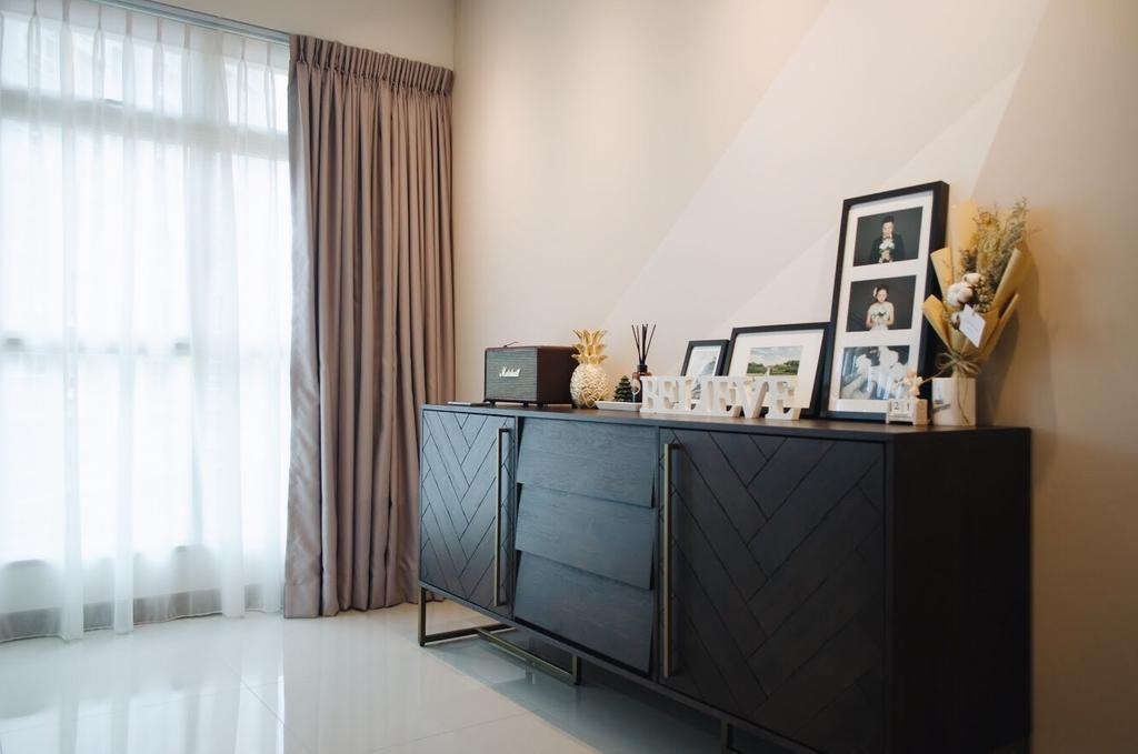 Minimalistic, HDB, Living Room, Compassvale Drive (Block 216C), Interior Designer, Authors • Interior & Styling, Scandinavian, Furniture, Sideboard