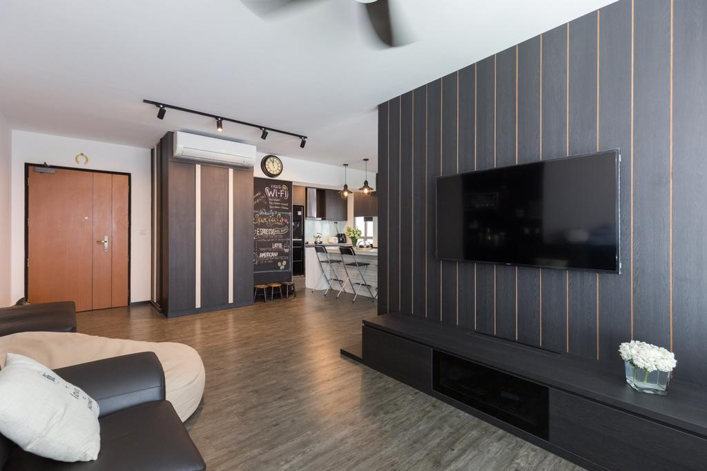 Modern, HDB, Clementi Avenue 4 (Block 312C), Interior Designer, D5 Studio Image, Indoors, Interior Design