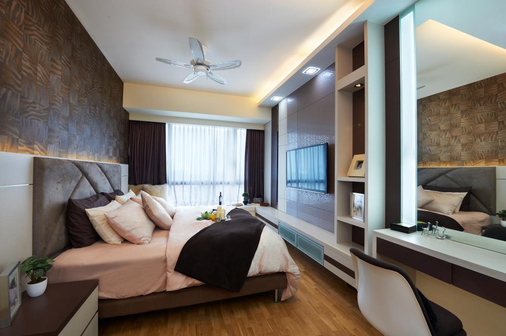 Contemporary, Condo, Bedroom, Double Bay (Block 21C), Interior Designer, AC Vision Design