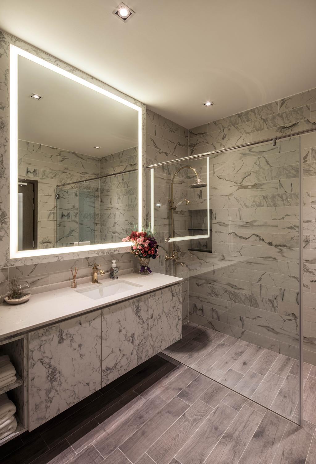37 Jalan Pemimpin, Commercial, Interior Designer, Zenith Arc, Modern, Bathroom, Indoors, Interior Design, Room