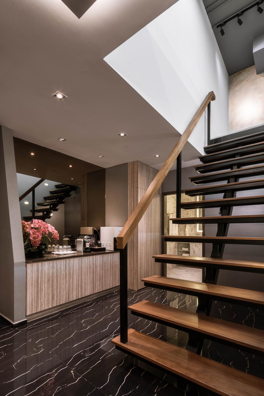 37 Jalan Pemimpin, Commercial, Interior Designer, Zenith Arc, Modern, Banister, Handrail, Staircase