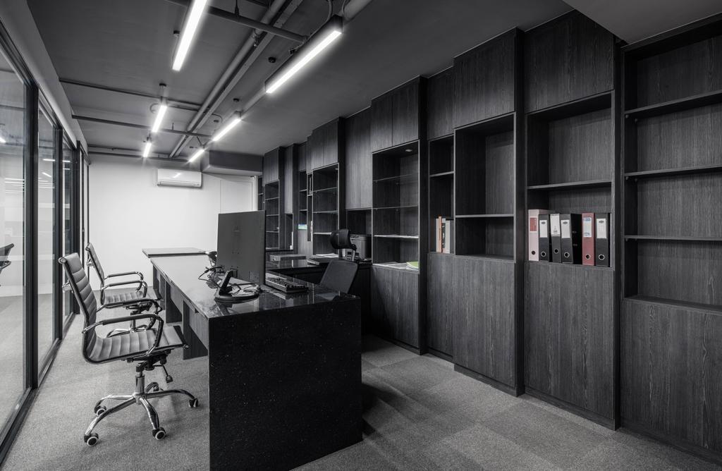 37 Jalan Pemimpin, Commercial, Interior Designer, Zenith Arc, Modern, Chair, Furniture