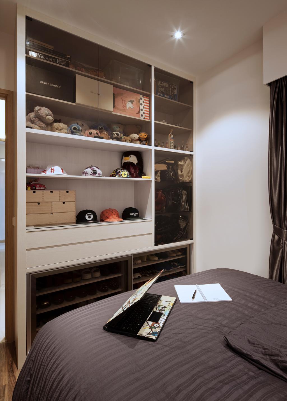 Modern, Condo, Bedroom, Terrasse Lane, Interior Designer, Zenith Arc, Minimalistic, Shelf