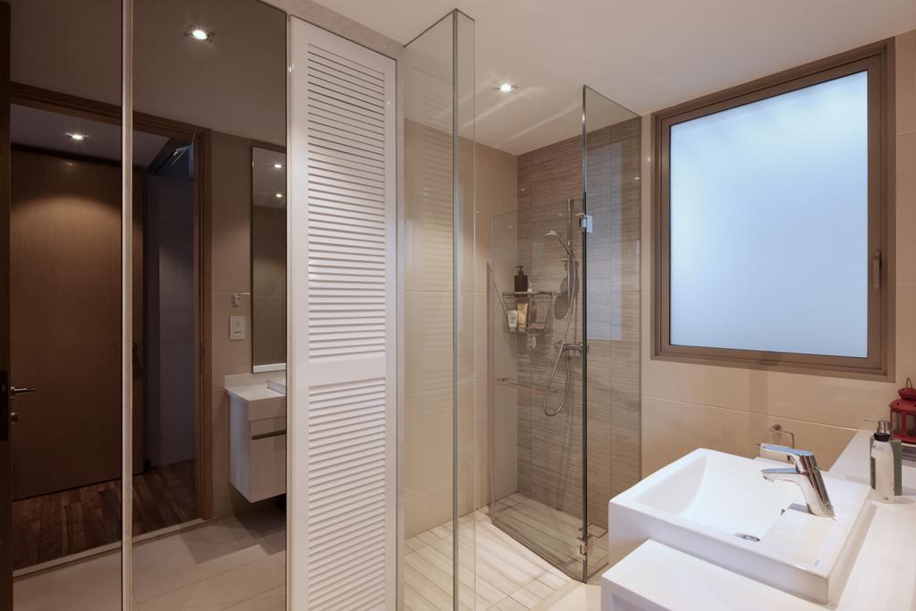 Modern, Condo, Bathroom, Terrasse Lane, Interior Designer, Zenith Arc, Minimalistic, Sink, Indoors, Interior Design, Room