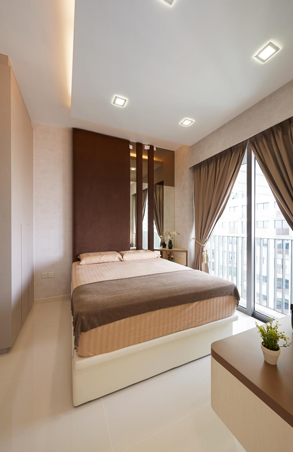 Modern, Condo, Bedroom, Sky Habitat, Interior Designer, AC Vision Design