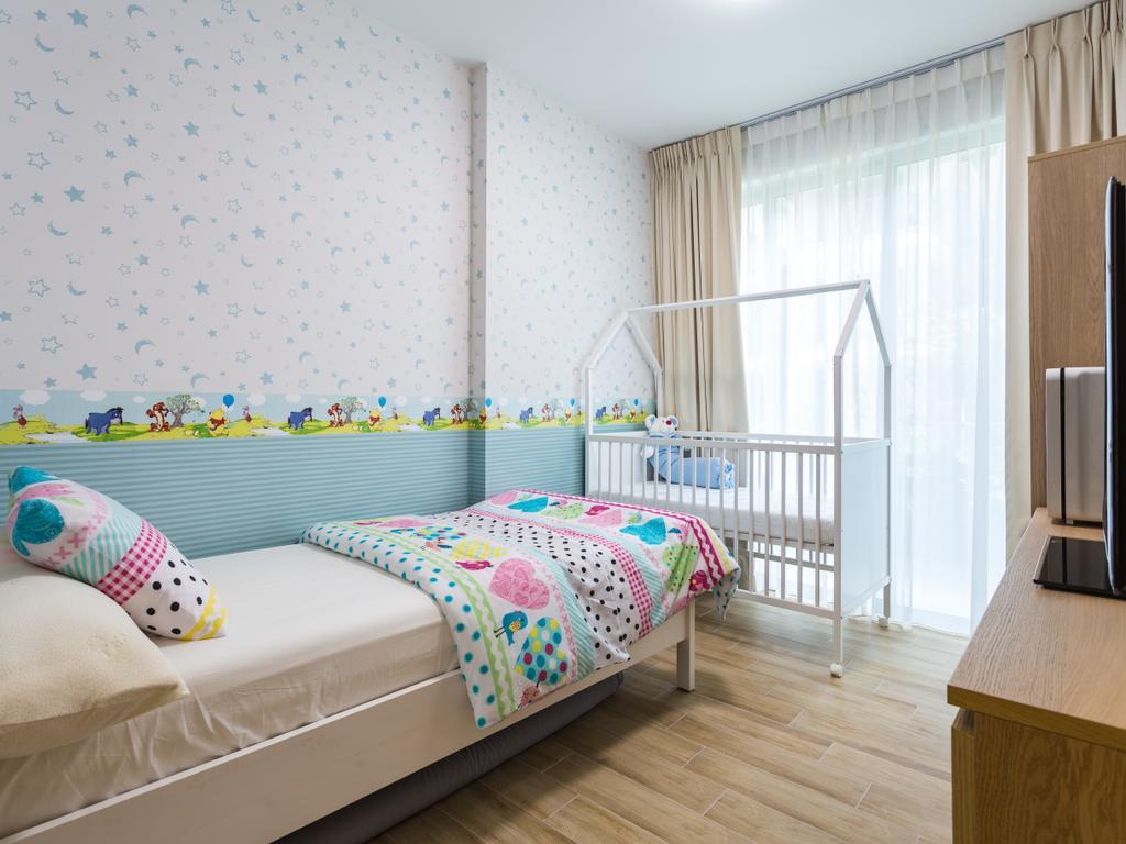 Modern, Condo, Bedroom, 8@Mount Sophia, Interior Designer, ID Gallery Interior, Bed, Furniture