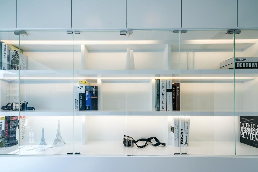摩登, 私家樓, 書房, 藍灣半島, 室內設計師, Pixel Interior Design, Display, Cabinet, Display Cabinet