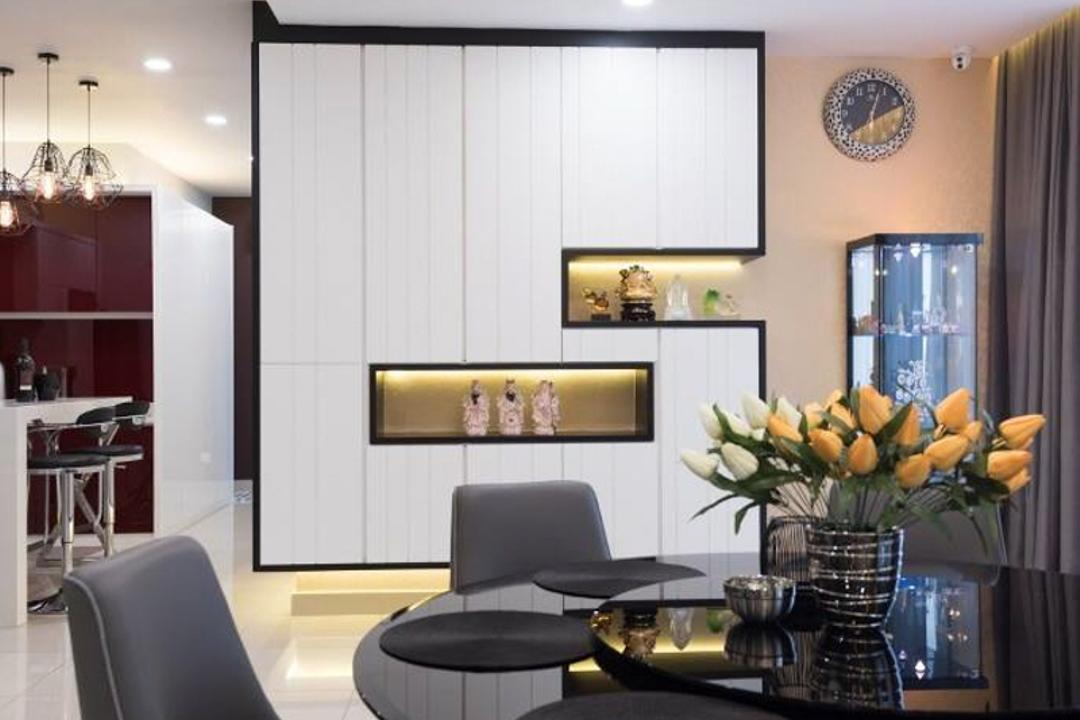 Setia Damai, Setia Alam, Selangor, A Moxie Associates Sdn Bhd, Dining Room, Landed, Flora, Jar, Plant, Potted Plant, Pottery, Vase, Coffee Table, Furniture, Table, Couch, Chair, Indoors, Room
