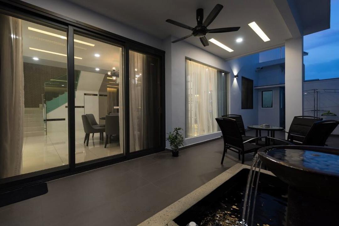 Setia Damai, Setia Alam, Selangor, A Moxie Associates Sdn Bhd, Balcony, Landed, Couch, Furniture, Chair, Boat, Transportation, Vessel, Watercraft