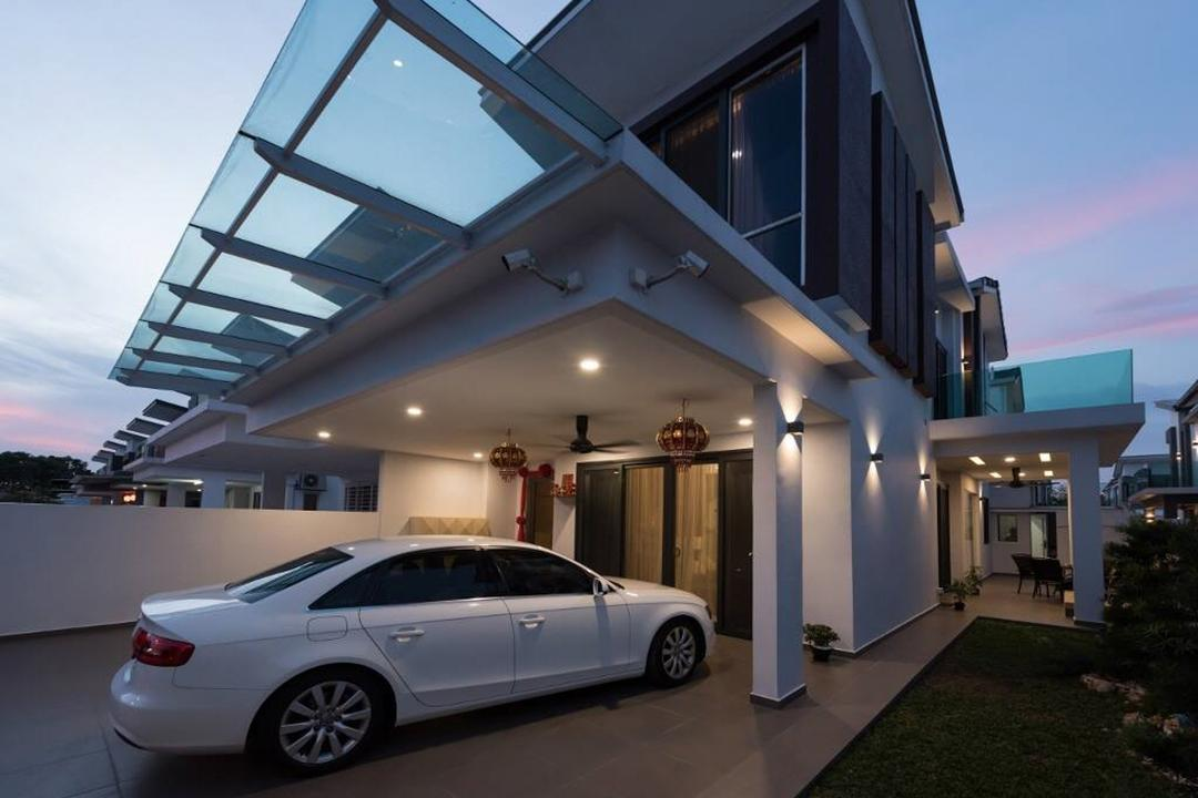Setia Damai, Setia Alam, Selangor, A Moxie Associates Sdn Bhd, Landed, Car Porch, Porch, Foyer, Exterior, Entrance, Architecture, Building, Automobile, Car, Coupe, Sports Car, Transportation, Vehicle, Canopy, Sedan