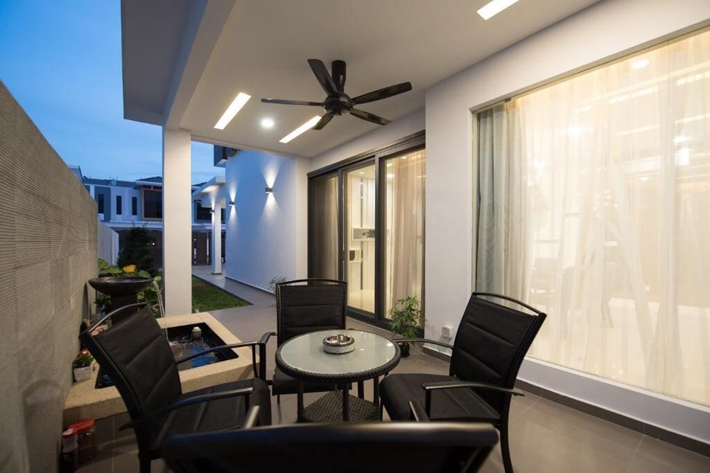 Landed, Garden, Setia Damai, Setia Alam, Selangor, Interior Designer, A Moxie Associates Sdn Bhd, Couch, Furniture, Chair, Freeway, Overpass, Road, Dining Table, Table