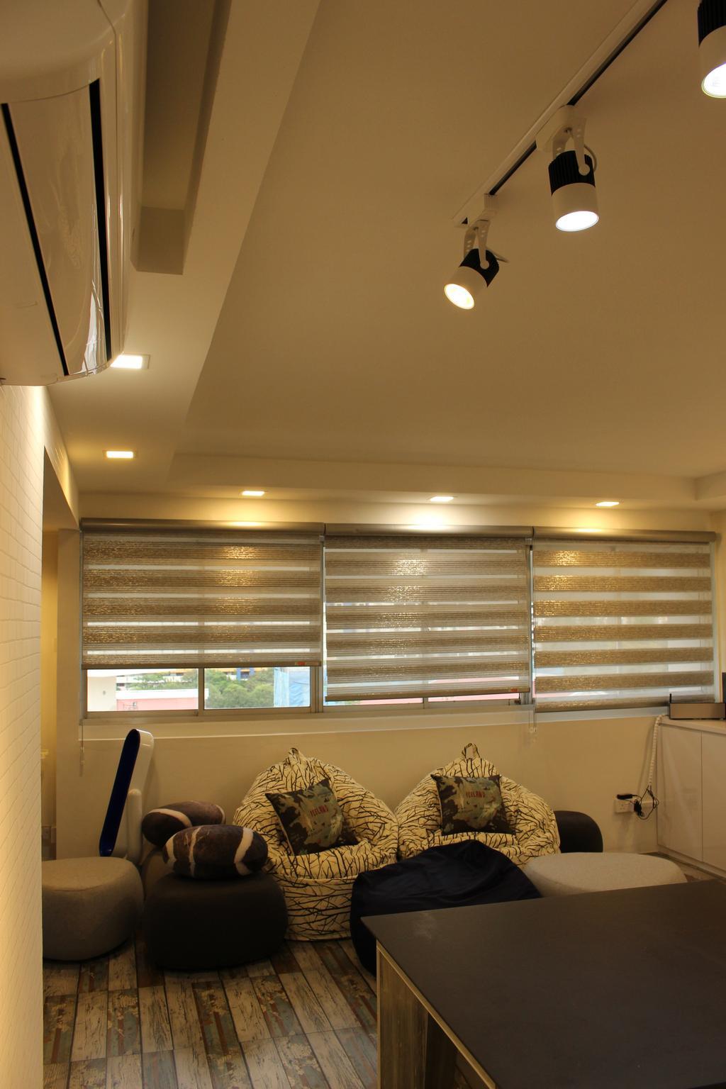 Scandinavian, HDB, Mcnair Road (Block 111), Interior Designer, Ingenious Design Solutions, Curtain, Home Decor, Window, Window Shade